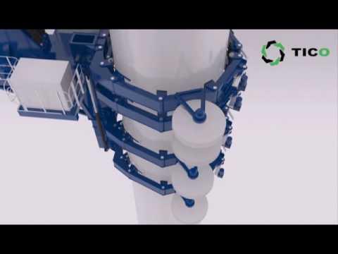 wind turbine installation and maintenance crane