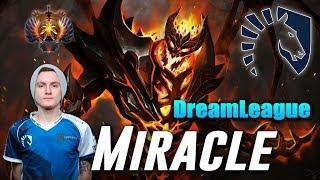 Miracle Shadow Fiend | Liquid vs Lithium | DreamLeague Dota 2
