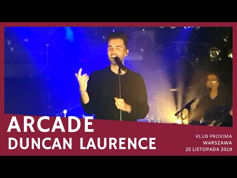 Duncan Laurence - Arcade (Proxima, Warsaw, 25.11.2019)