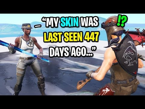 I got CARRIED by a rare RECON EXPERT in Fortnite... (Rarest Skin in Fortnite)
