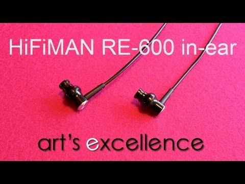 HiFiMAN RE600 inear hoofdtelefoon headphone