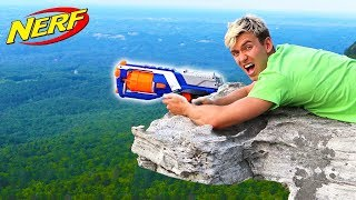 WORLD RECORD NERF SHOT!!