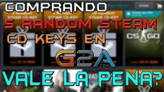 Comprando 5 Random Steam CD-KEYS En G2A | Random Steam CD-KEYS Estafa o No?(CLICK EN MOSTRAR MAS Y SERAS SEXY:3 ▭▭▭▭▭▭▭▭▭▭▭▭▭▭▭▭▭▭▭▭▭▭▭▭▭..., 2015-06-08T18:00:01.000Z)