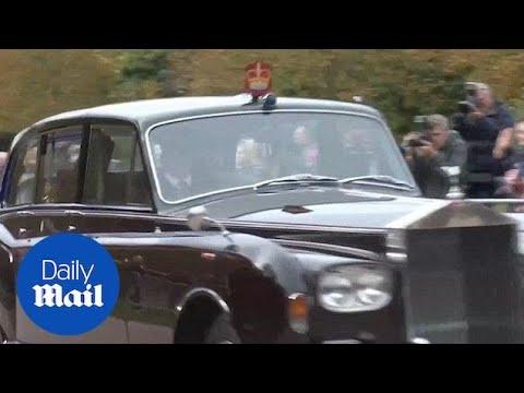 Duchess Of York Sarah Ferguson Makes Royal Wedding Arrival