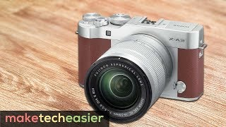fujifilm X-A3 the best vlogging camera? Mirrorless digital camera REVIEW