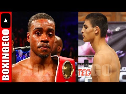 ERROL SPENCE JR ORDERED TO FIGHT CARLOS OCAMPO BY IBF