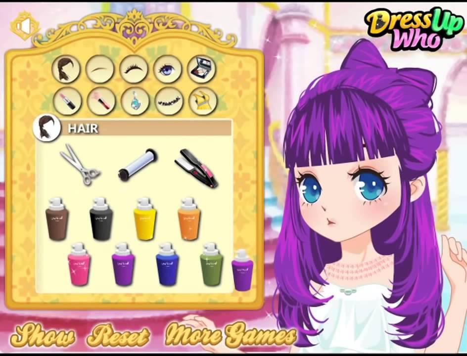 Игры для девочек. бесплатно онлайн причёски