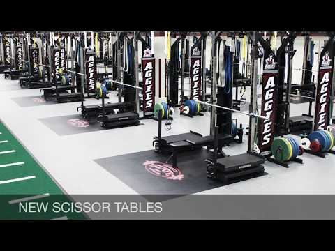 New Mexico State University Weight Room