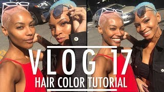 Sharam Diniz VLOG #17 HAIR COLOR TUTORIAL