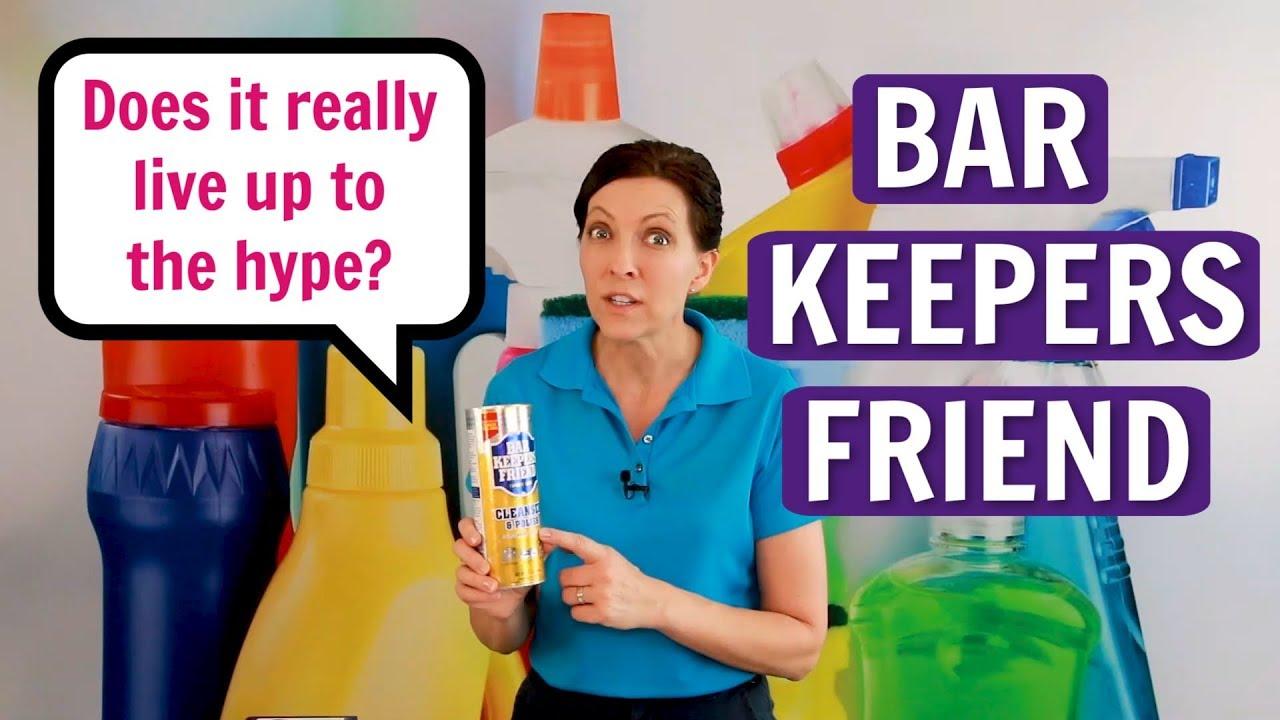 Bar Keepers friend - Đánh giá sản phẩm của bạn - Liệu nó có phù hợp với thị trường và người tiêu dùn
