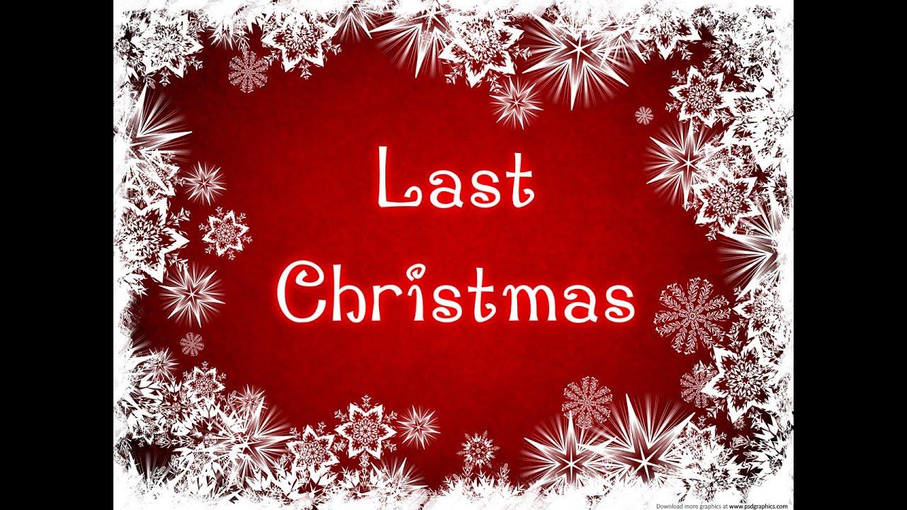 last christmas - photo #42