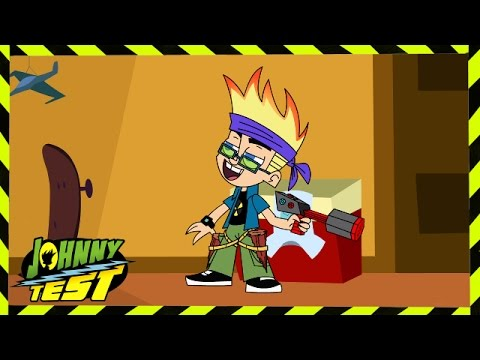 Johnny Test: Fangs a Lot Johnny // Johnny Testosterone (Full Episode!)