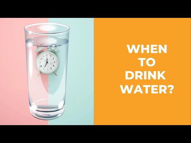 WATER - When to Drink Water in a day- The Right and Wrong Times to Drink Water! ( Kangen Water )