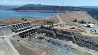 Oroville Spillways Phase 2 Update Late May 2018
