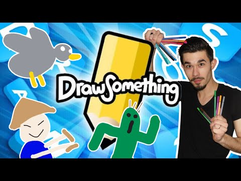 JE SUIS UN ARTISTE ! (DRAW SOMETHING LET'S PLAY)