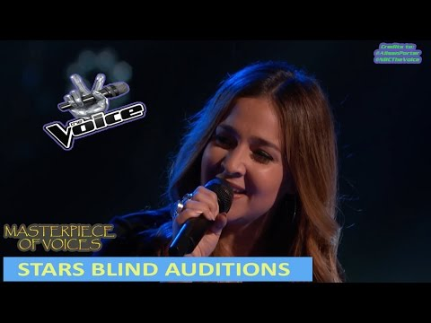 STARS BLIND AUDITION IN THE VOICE