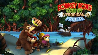 [GER] Donkey Kong Country: Tropical Freeze - Any% Funky Only in 1:28:50