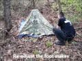 Fast and Easy Survival Poncho Shelter Sets Up In 5 Minutes