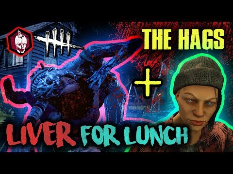 LIVER FOR LUNCH! [THE HAGS] - Dead by Daylight with HybridPanda