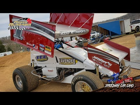 #1A Lee Moore - USCS Outlaw Sprint Cars - 3-23-19 North Alabama Speedway - In Car Camera