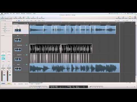 Logic Pro 9 Tutorial: How to make your own Glitch Sound Effects