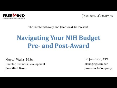 Navigating Your NIH Budget: Pre- and Post-Award