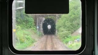 JR九州415系Fo112編成 日豊本線 杵築⇒大分 前面展望動画