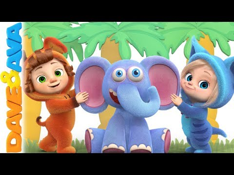 🍎 Kids Songs & Nursery Rhymes  Dave and Ava 🍎