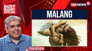 malang Movie Review By Rajeev Masand | CNN News18