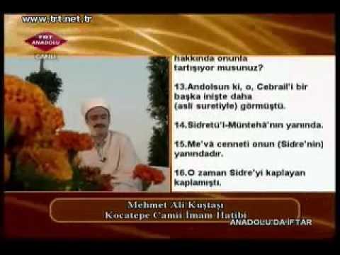 Mehmet Ali Kuştaşı Necm süresi Ramazan 2011 TRT