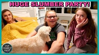 BIGGEST SLUMBER PARTY EVER!