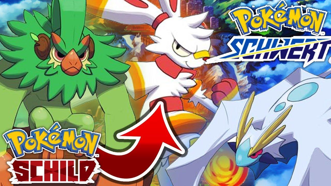 pokemon schild starter entwicklung
