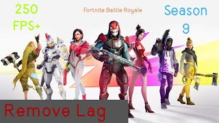 How To Completly Remove Lag In Fortnite Battle Royale (100% WORKING)