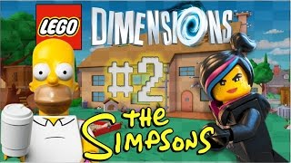 LEGO Dimensions - Part 2: Meltdown at Sector 7-G (THE SIMPSONS)