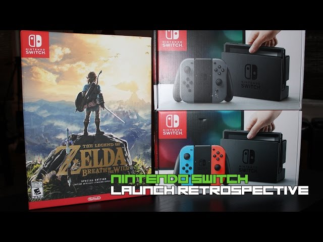 Nintendo Switch Launch Retrospective (The Legend of Zelda: Breath of the Wild)