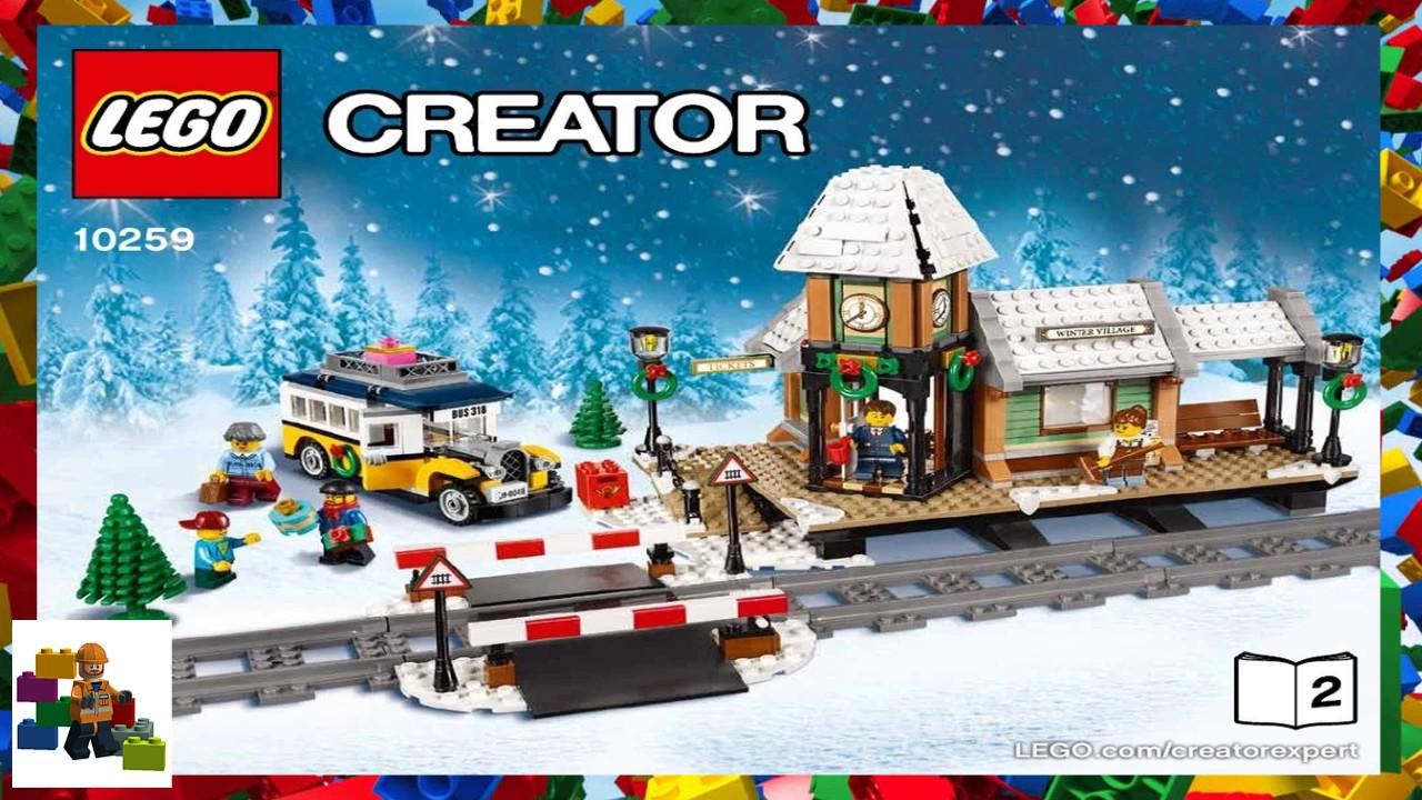 Lego Instructions Creator Expert 10259 Winter Village Station