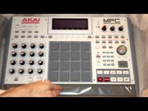 Very First Akai Mpc Renaissance Unboxing 8/31/12 Musicians Friend 1st shipment