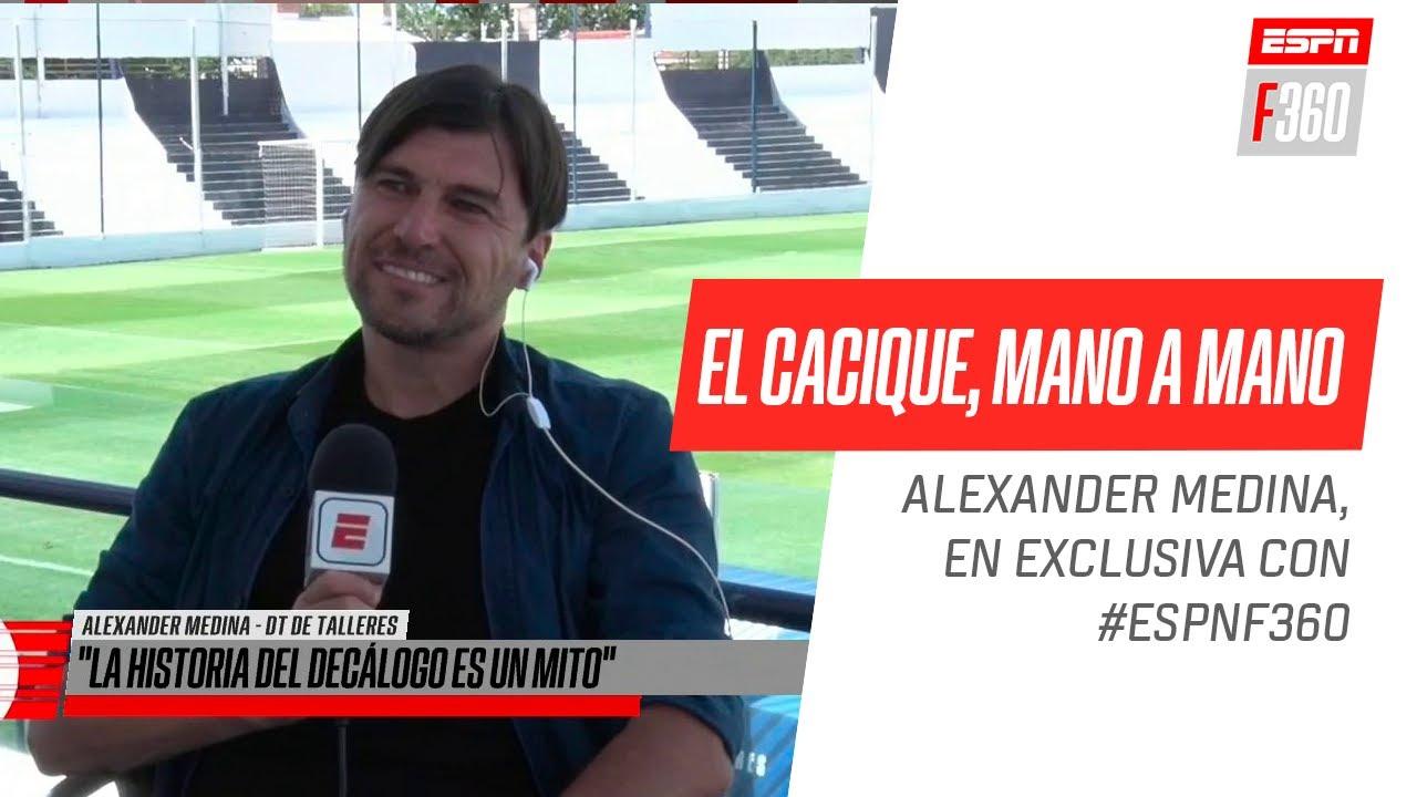 ¡Gran mano a mano con el Cacique #Medina en #ESPNF360!