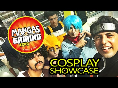 Manga & Gaming Expo 2016 - Cosplay Showcase (MOROCCO)