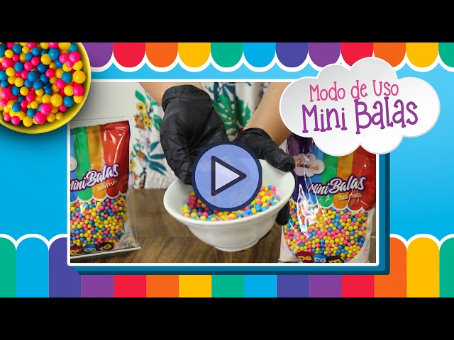Modo de Uso - Decora Mini Balas | Cacau Foods