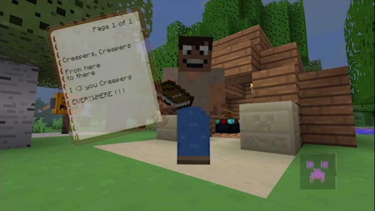 Minecraft - Creeper poetry!!! (Minecraft Machinima) - YouTube