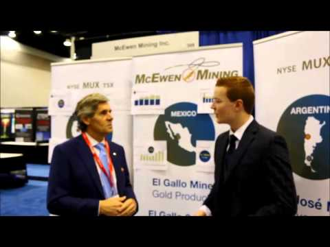 Rob McEwen interview at Vancouver Resource Investment Conference