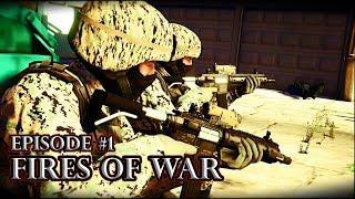 FIRES OF WAR | Episode 1 | GTA 5 Machinima