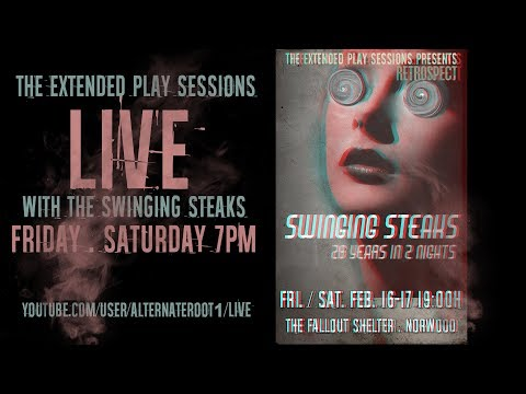 The Swinging Steaks LIVE at The Fallout Shelter - 2/17/18 - NIGHT 2