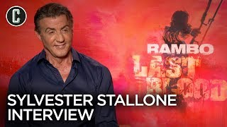 Sylvester Stallone Interview Rambo: Last Blood