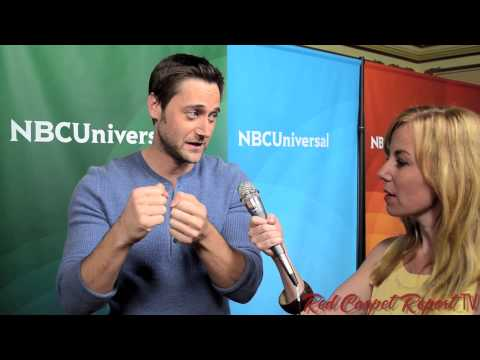 Ryan Eggold @NBCBlacklist at the 2014 NBC Summer Press Day ...