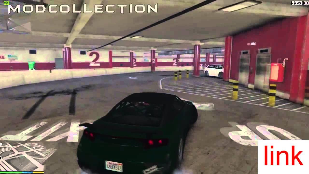 Grand theft auto v pc mods drift parking garage fast for Garage fast auto sarcelles