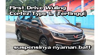 First Driver Wuling Cortez type Tertinggi automatic 2018 Indonesia