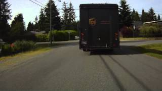 United Parcel Service (UPS) driver - Illegal Pass