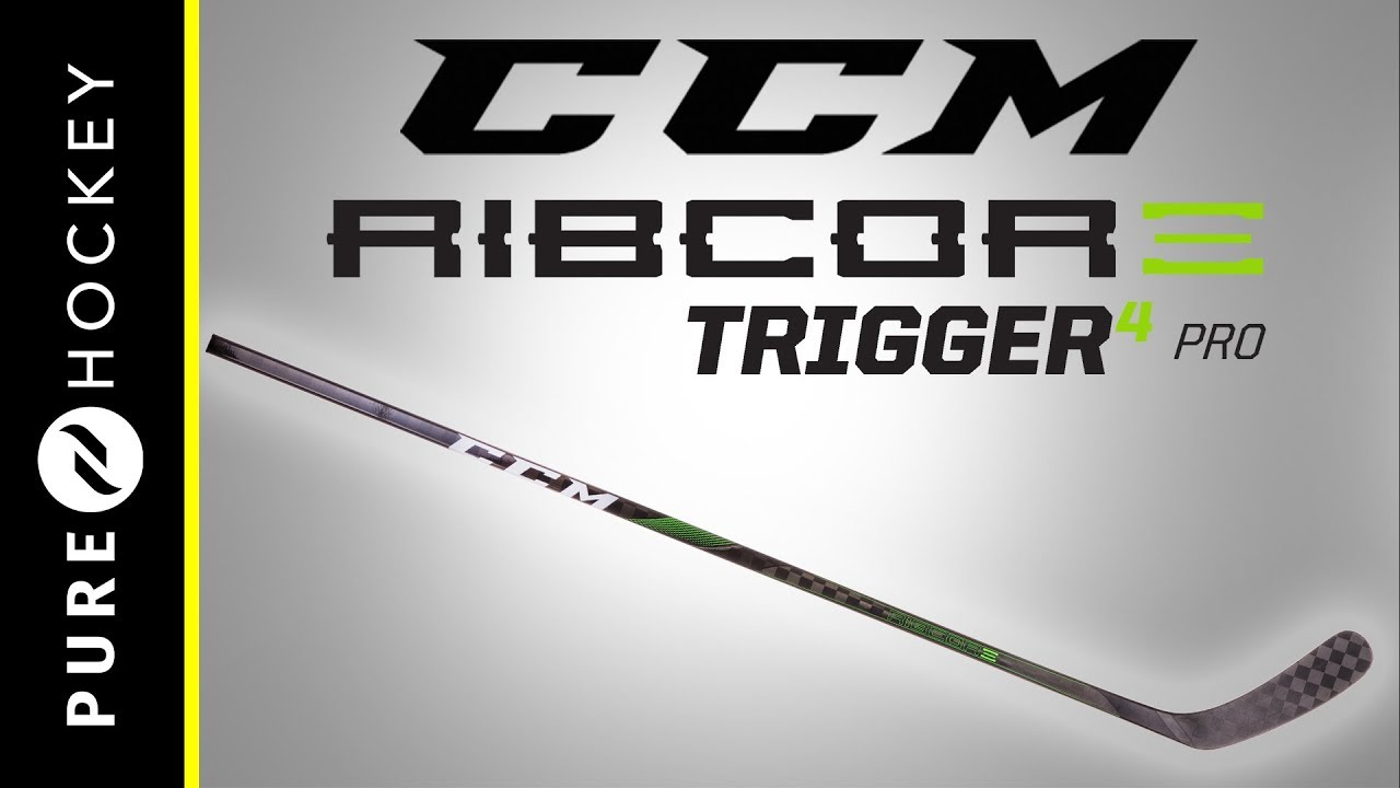CCM Trigger 4 PRO Intermediate  Ice Hockey Stick